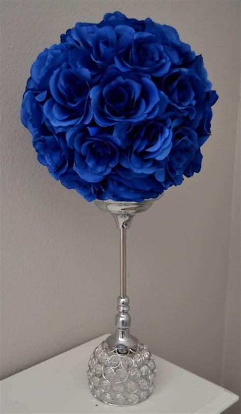 blue flowers centerpieces best 25 royal blue centerpieces ideas on