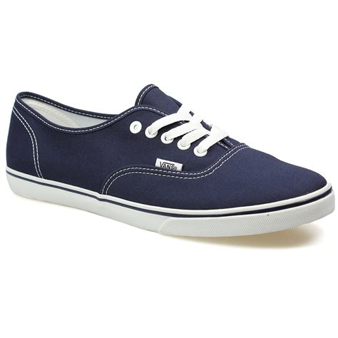 Harga Vans Navy Blue vans authentic womens navy blue white canvas trainers sneakers shoes size 3 9 ebay