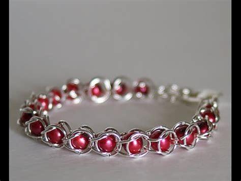 jump ring bracelet ideas diy jump ring bracelet chain maille bracelets