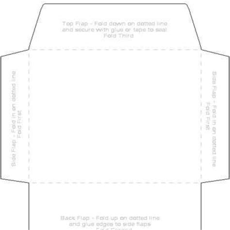printable 4 x 6 envelope template printables downloads
