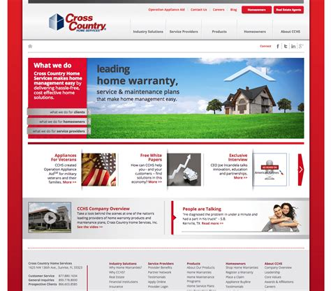 cross country home services portal xtivia