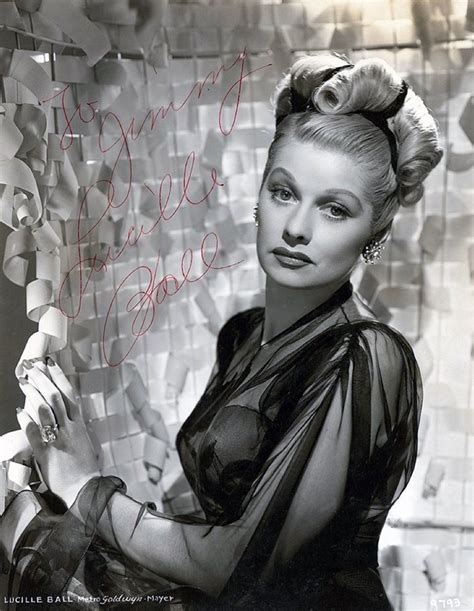 facts about lucille ball lucille ball psa autographfacts