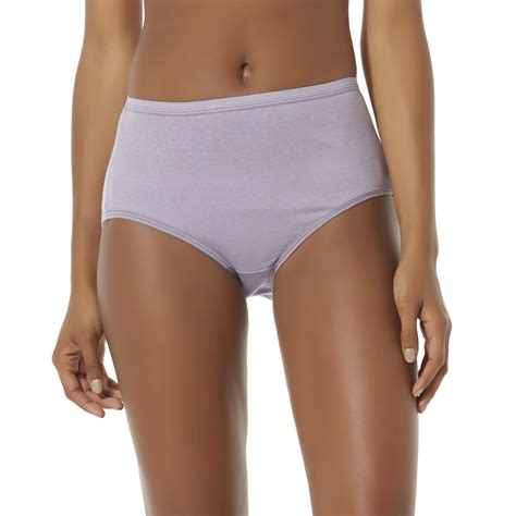 Hanes Cotton For 4 hanes s 4 pairs ultimate cotton comfort brief