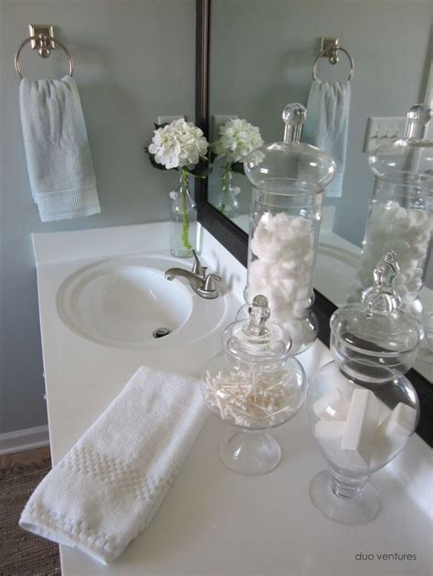 25 best ideas about apothecary jars bathroom on