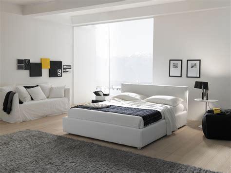 foto di letto foto di letti bolzan bianco in stanza solare letto moderno