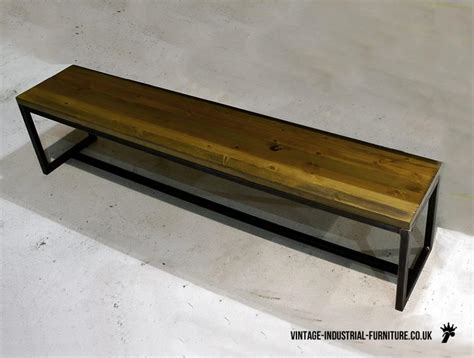 vintage industrial bench vintage industrial grafik bench