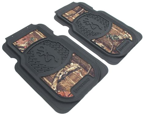 Browning Floor Mats browning buckmark universal fit vehicle floor mats front