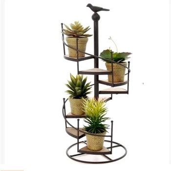 design flower pots stand high quality spiral staircase design wrought iron flower