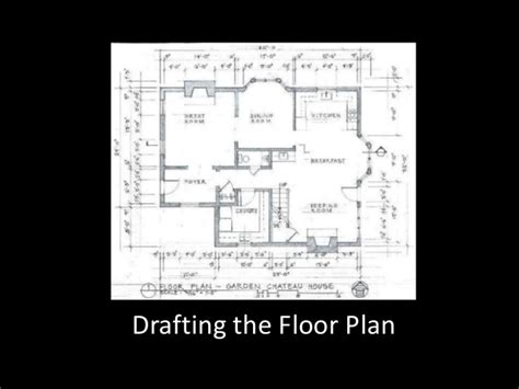 how to create a floor plan in powerpoint basic drafting week 10 powerpoint drafting the house floor