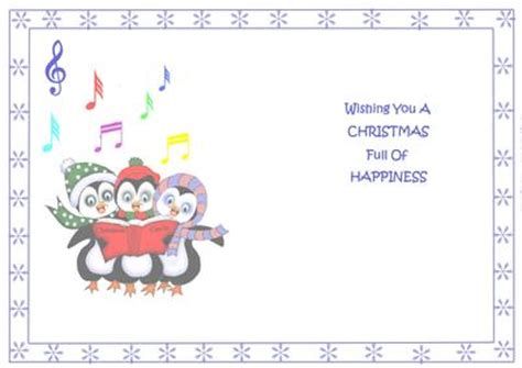 free printable holiday cards with photo insert insert for singing penguins cup567366 688 craftsuprint
