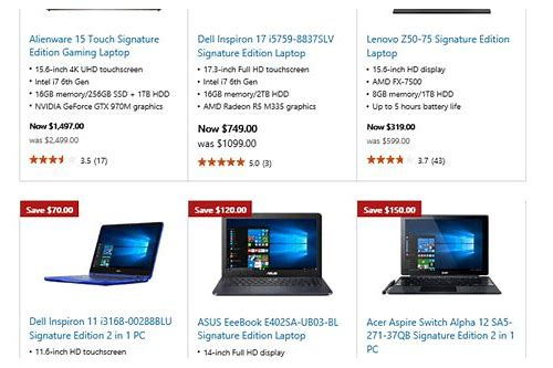 cyber monday laptop computer deals costco
