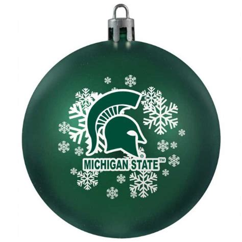 michigan state tree ornament michigan state spartans tree