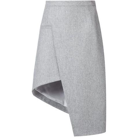 Asymmetric A Line Skirt best 25 gray skirt ideas on chic winter