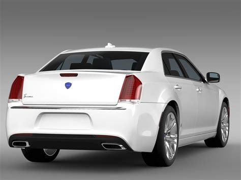 Lancia Cars Models Lancia Thema 2016 3d Model Obj 3ds Fbx C4d Lwo Lw Lws Ma