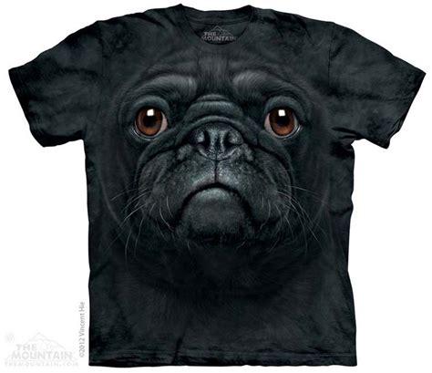 Black Pug Shirt Tie Dye T Shirt Pug T Shirts