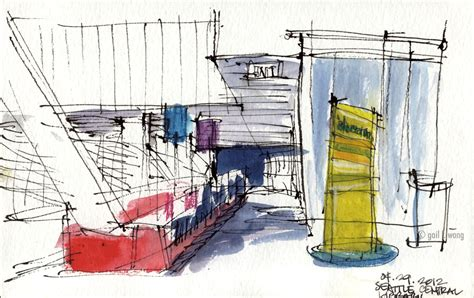 sketchers seattle sketches from april 29th sketchcrawl