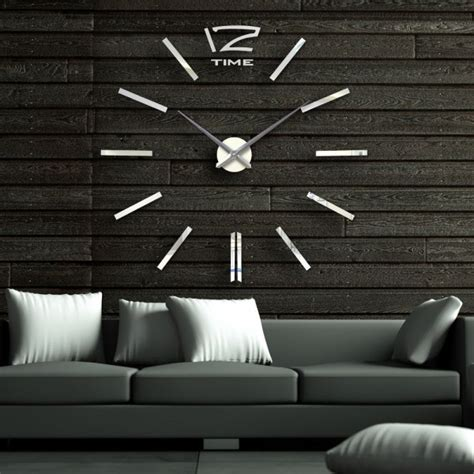 Promo Diy Acrylic Wall Clock 30 50cm Diameter Jam Din Diskon 30 large wall clocks that don t compromise on style