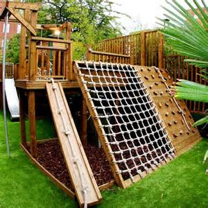 lots of climbing ideas for the kiddies garden