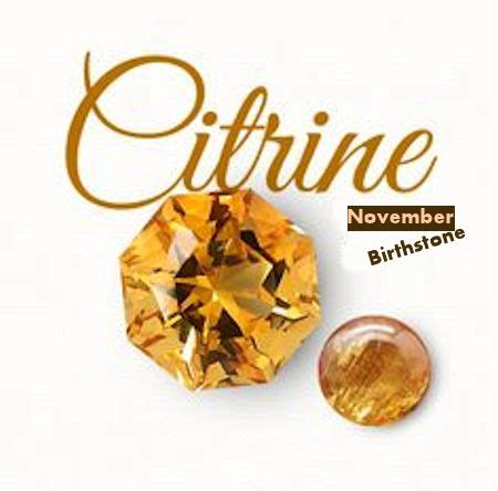 november birthstone citrine november birthstone