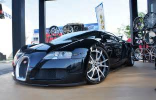 Bugatti Rims Bugatti Veyron Rides On Forgiato Wheels Autoevolution