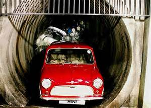 Car Minny Set 5in1 top gear team to race minis through sewage pipes as they recreate the italian daily mail