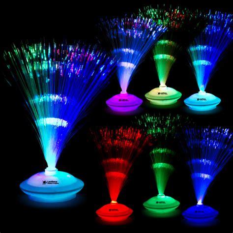 light up fiber optic centerpiece with logo 4allpromos