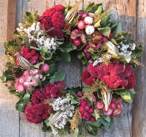 Wreaths In Windows Inspiration 85 Best Inspirational Dried Flower Decor Images On Pinterest Dried Flowers Flowers And