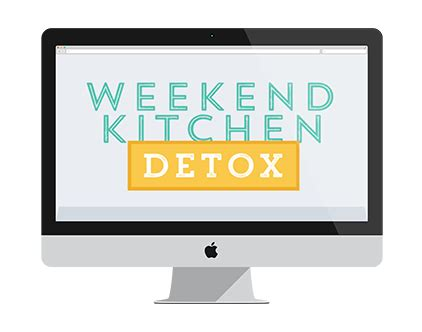 Weekend Detox by Meal Planning Resources As A Strawberry