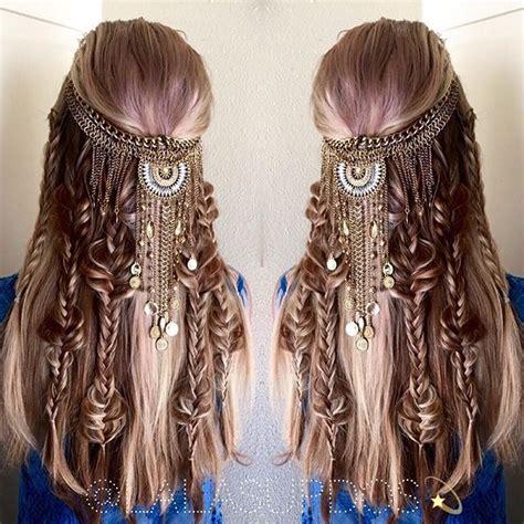 warrior long hair braids ultimate boho braid by lalas updos game of thrones