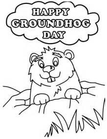 groundhog coloring page 25 best groundhog day pictures and images