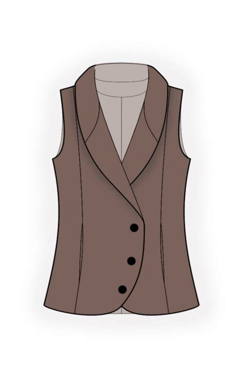 pattern quilted vest quilted vest sewing pattern 4703 made to measure