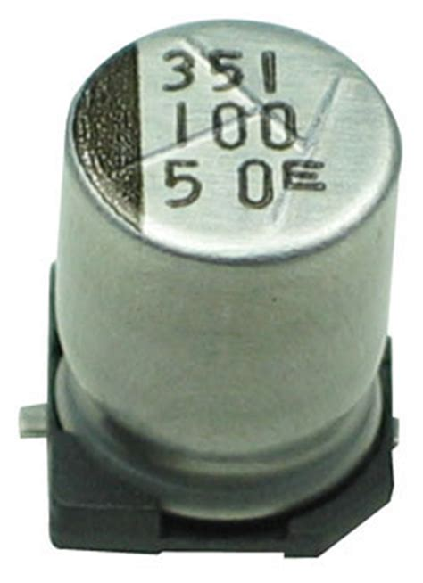 100uf capacitor smd 100uf 50v smd electrolytic capacitor technical data