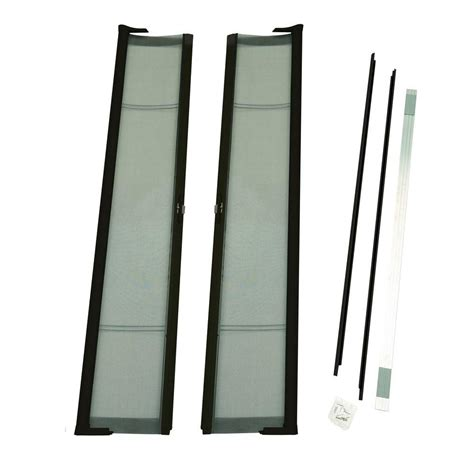 retractable screen 72 door odl 72 in x 78 in brisa bronze height door