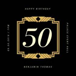 50th Birthday Invitations Templates by 50th Birthday Invitation Templates Canva
