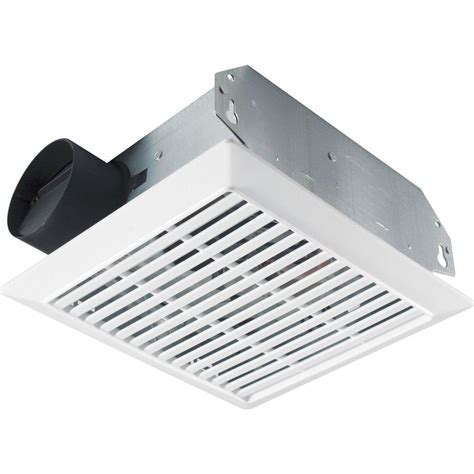 sidewall mounted exhaust fan nutone 70 cfm wall ceiling mount exhaust bath fan 695