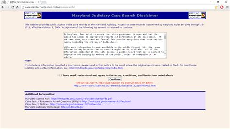 Md Judicial System Search Find Court Cases Images