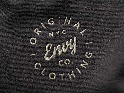 Embroidery Design Mockup | embroidered logo mockup by raul taciu dribbble