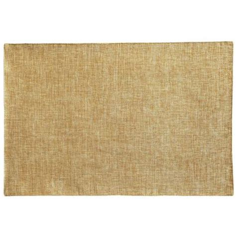 Pier One Place Mats by Woven Sheen Placemat Gold Pier 1 Imports