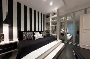 black and white bedroom interior design ideas