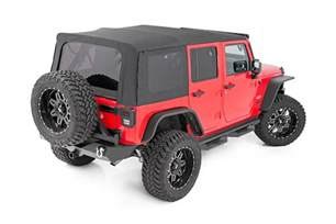08 Jeep Wrangler Soft Top Country Replacement Soft Top For 2010 2017 Jeep