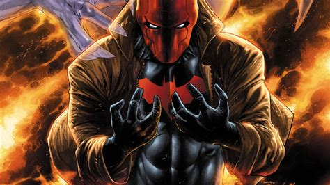 batman red hood wallpaper red hood outlaws dc comics d c comics superhero heroes