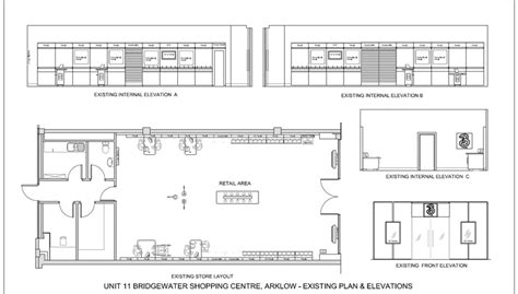 small store floor plan shop fitting process