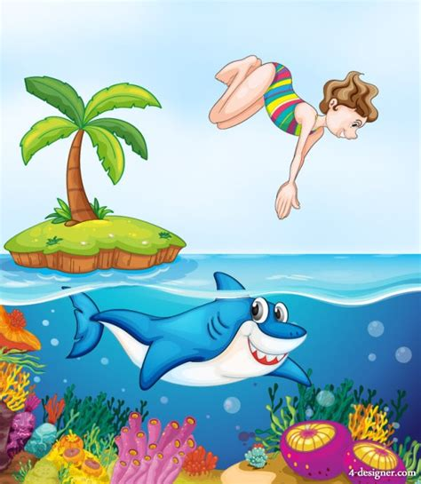themes of cartoons download ocean cartoon