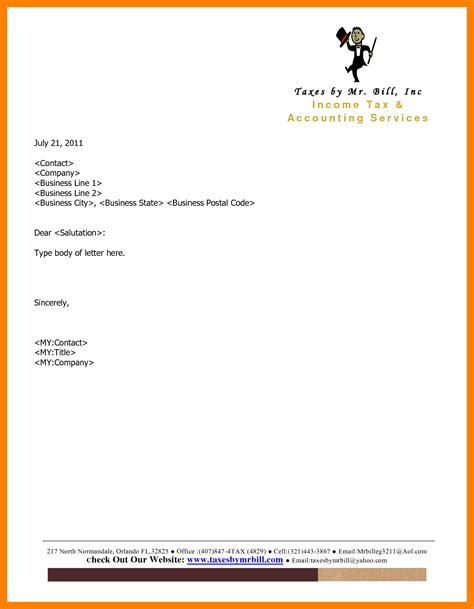 10 letterhead exles edu techation