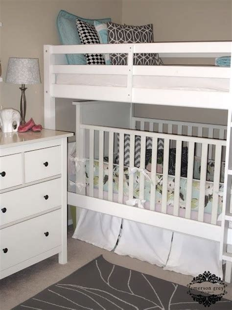 Crib Bunk Bed Combo Best 20 Bunk Bed Crib Ideas On Toddler Bunk Beds Brothers Room And Four