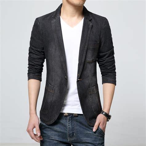 Jas Blazer Jaket Casual Style Blue black casual suit jacket suit la