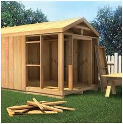 mccarte pent shed plans and material lists for building