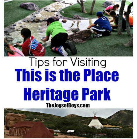tips for visiting this is the place heritage park salt
