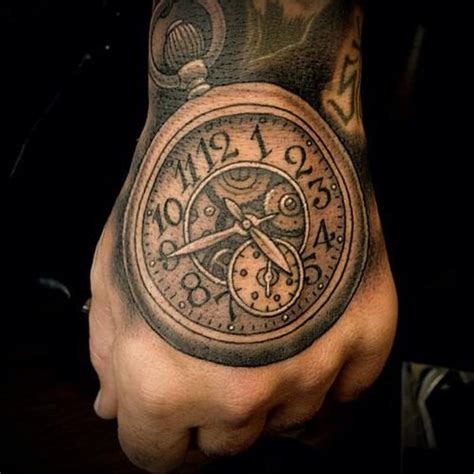 clock face tattoo designs 30 clock designs