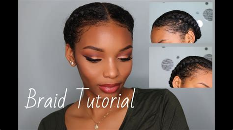how to braid your own hair youtube how to braid your own hair braid tutorial protective